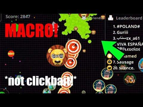 UNBELIEVABLE DESTROYING MACRO HACKER! #2 | Agar.io Mobile - HUGE MACRO PRESPLITS | AGAR.IO TRICKS! thumbnail