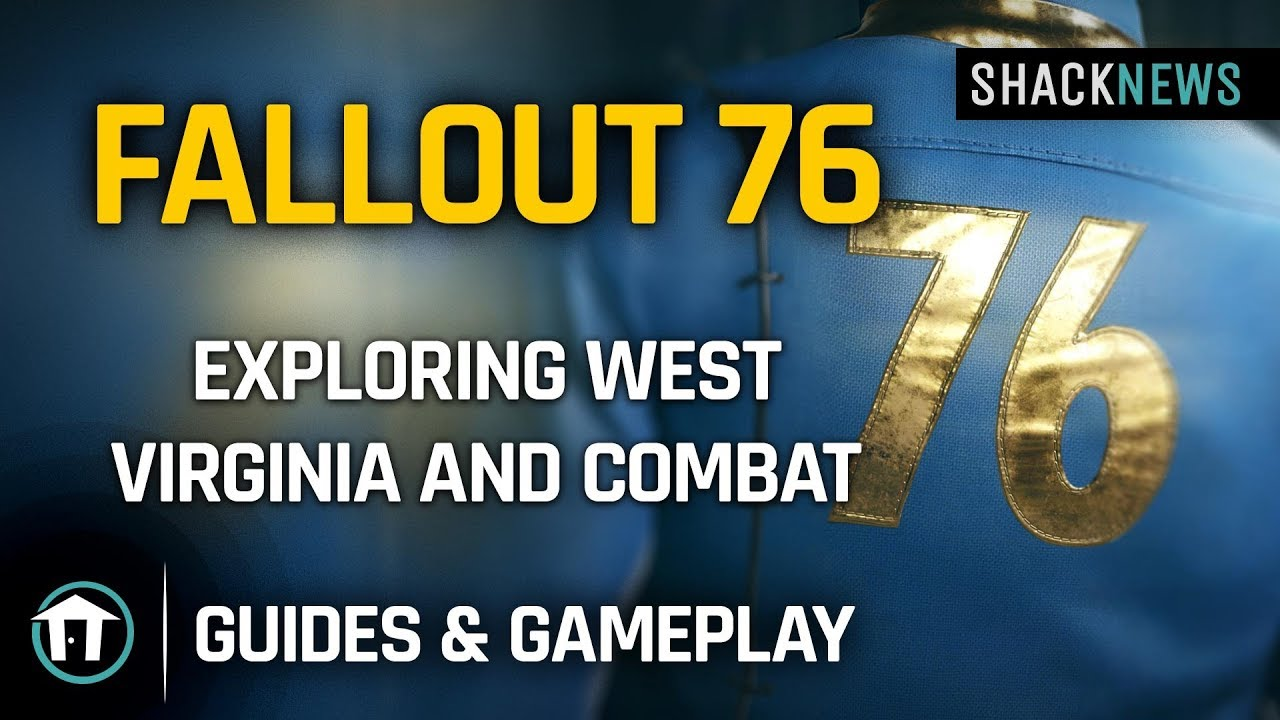Fallout 76 Patch 5 brings performance tweaks, balance changes