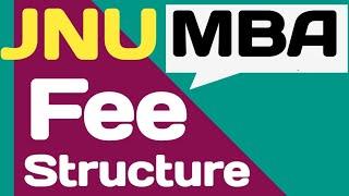 JNU MBA Fee Structure || JNU MBA Admission || JNU Master of Business Administration