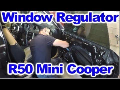 How to replace Window Regulator on R50 Mini Cooper