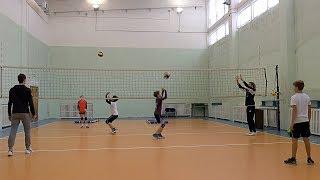 Волейбол обучение. Дети. Упражнение.  Прием и пас
