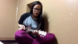 Somewhere over the rainbow - ukulele cover (ModernAsian)