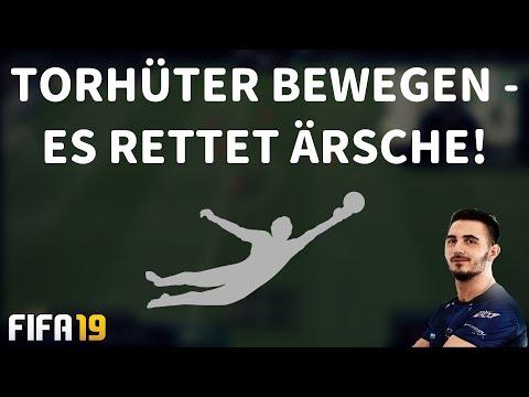 TORHÜTER BEWEGEN - ES RETTET ÄRSCHE UND SO EINFACH WIRD ES AUSGEFÜHRT! | FIFA 19 ULTIMATE TEAM