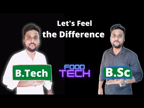 B.Tech or Bsc??   Similarities  Differences   Know all the interesting facts  My Opinion  Shreyansh 
