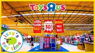 TOYS R US IS CLOSING! Shopping for Toy Cars and Toy Trains and LEGO including Thomas and Hot Wheels
