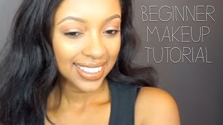 easy beginner makeup tutorial only 3 brushes for entire makeup look