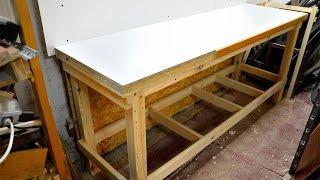 Budowa warsztatu (stołu) stolarskiego cz.2