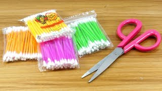 Best craft with cotton buds | Best craft idea | DIY arts and crafts |