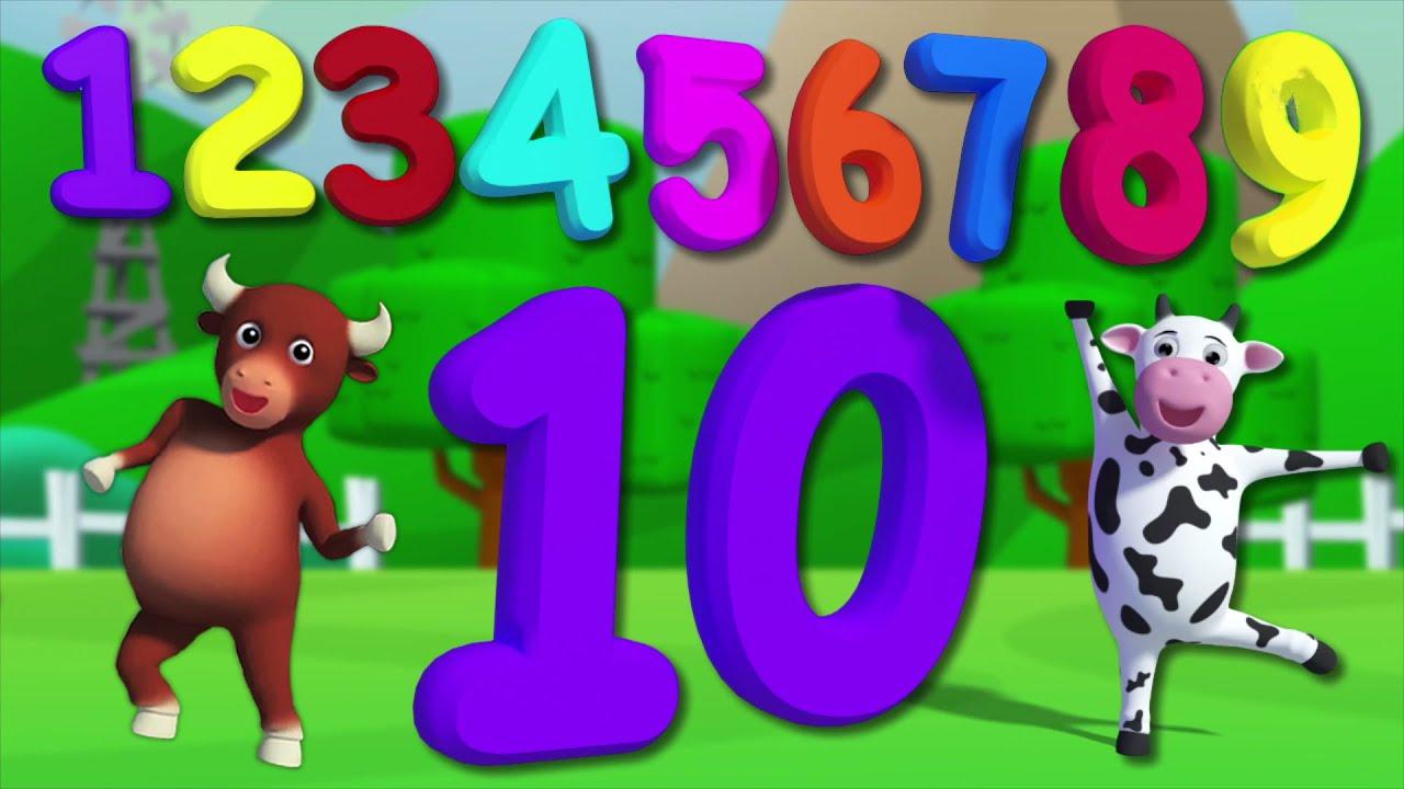 Numbers song for kids numeri canzone per bambini - Colore per numeri per i bambini ...
