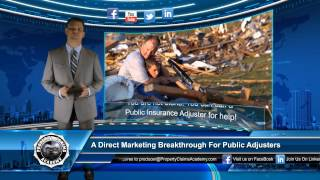 Advertising For Public Adjusters