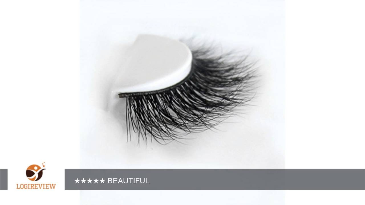 2cfd6673124 Arimika Handmade Natural 3D Authentic Mink False Eyelashes For Makeup 1  Pair Pack | Review/Test