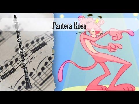 Partitura la Pantera Rosa Clarinete Soprano