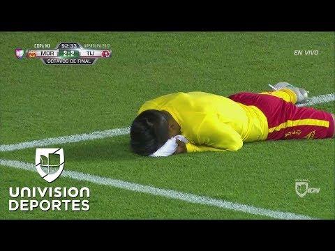 ¿Fuera de juego? Era el gol de la remontada para Morelia, pero no valió