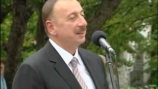 İlham Əliyevin Sloveniyada Mehdi Hüseynzadənin memorialının açılışında nitqi