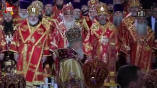 В храме Христа Спасителя встретили мощи Николая Чудотворца