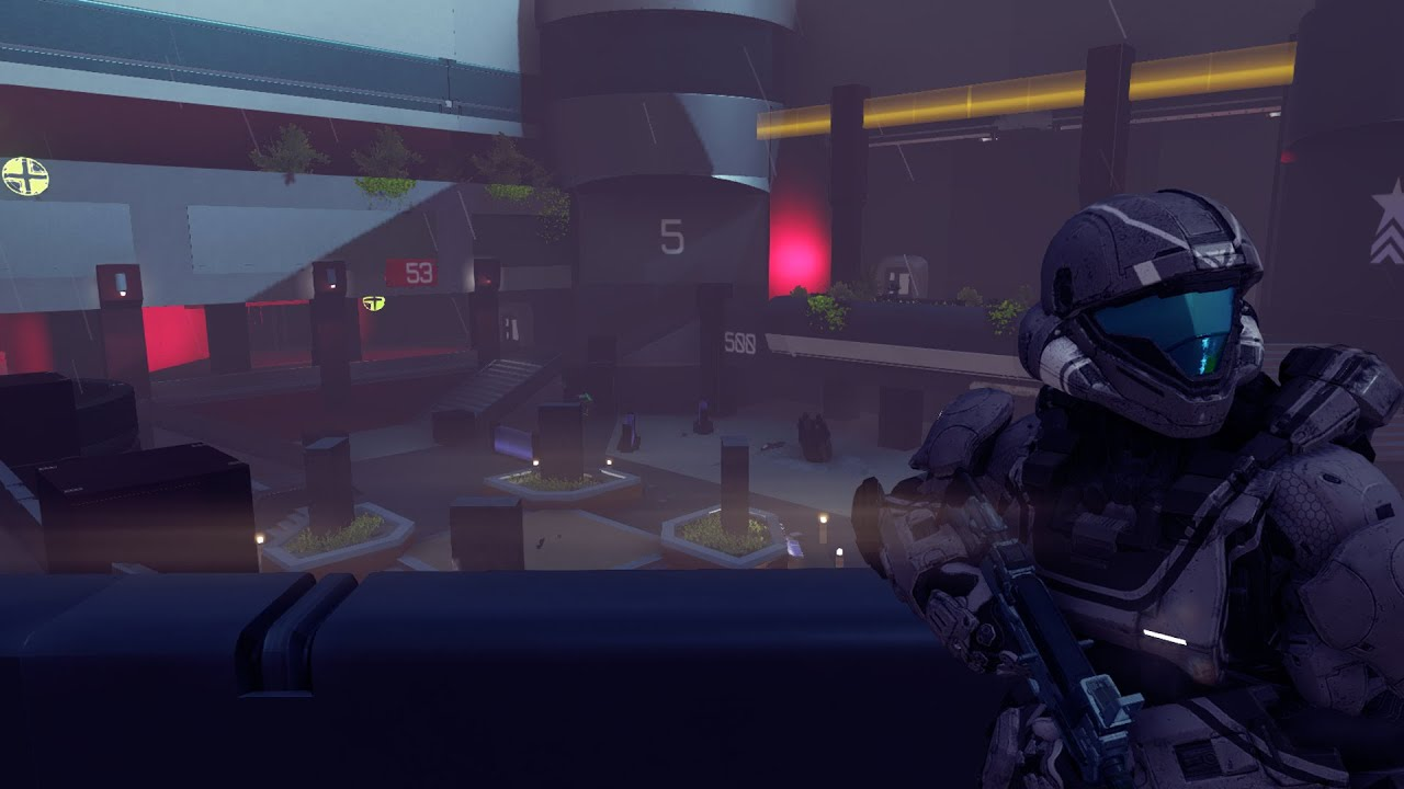 Halo 5 forge crater halo 3 odst remake youtube publicscrutiny Image collections