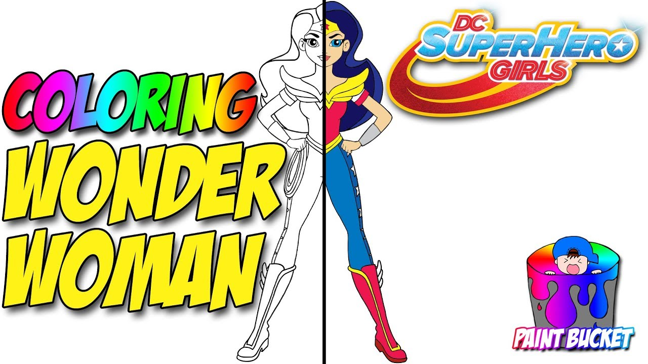 wonder woman coloring pages u2013 dc super hero girls coloring book
