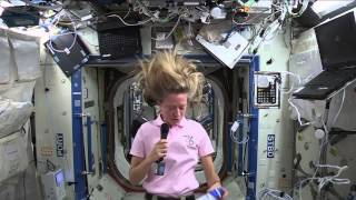 "Space Station Crew Member Discusses Life in Space with the NBC ""Today"" Show"