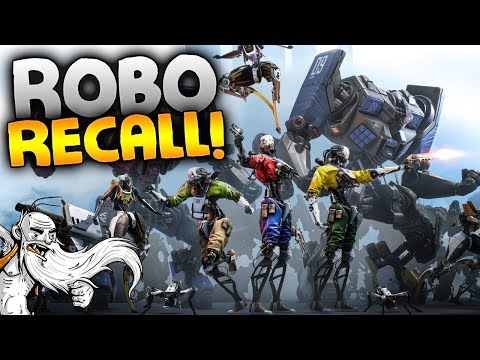 "Robo Recall VR Gameplay - ""GIANT TITAN ROBOT!!!"" Oculus Virtual Reality Let"