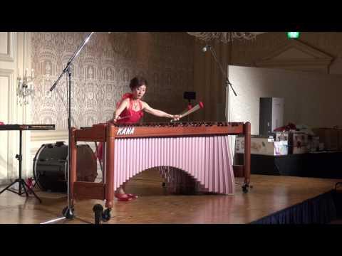 Encore Kana Omori Signature Medium Marimba Mallets - Birch