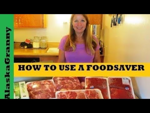 FoodSaver How To Use A Food Saver Vacuum Sealer