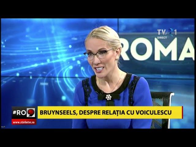 Ramona Ioana Bruynseels - Emisiune