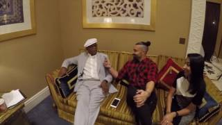 Samuel L Jackson Joins the Kris Fade Show on Virgin Radio Dubai