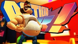 SUPER SPEEDY FAT MAN! | Action Henk