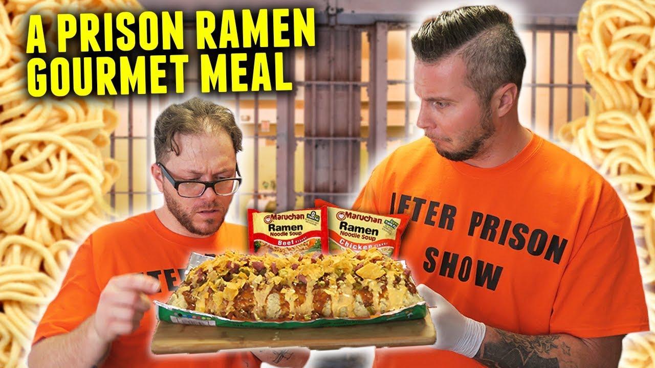 cooking a ramen noodle prison log prison ramen youtube