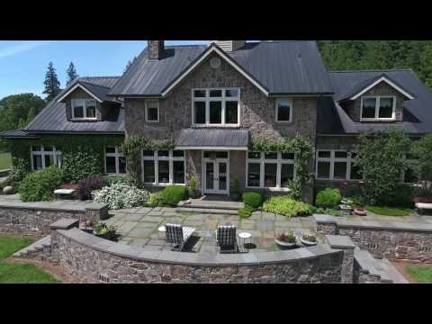 Award winning Traditional Stone Home on 375 acres for sale | Oregon luxury estates
