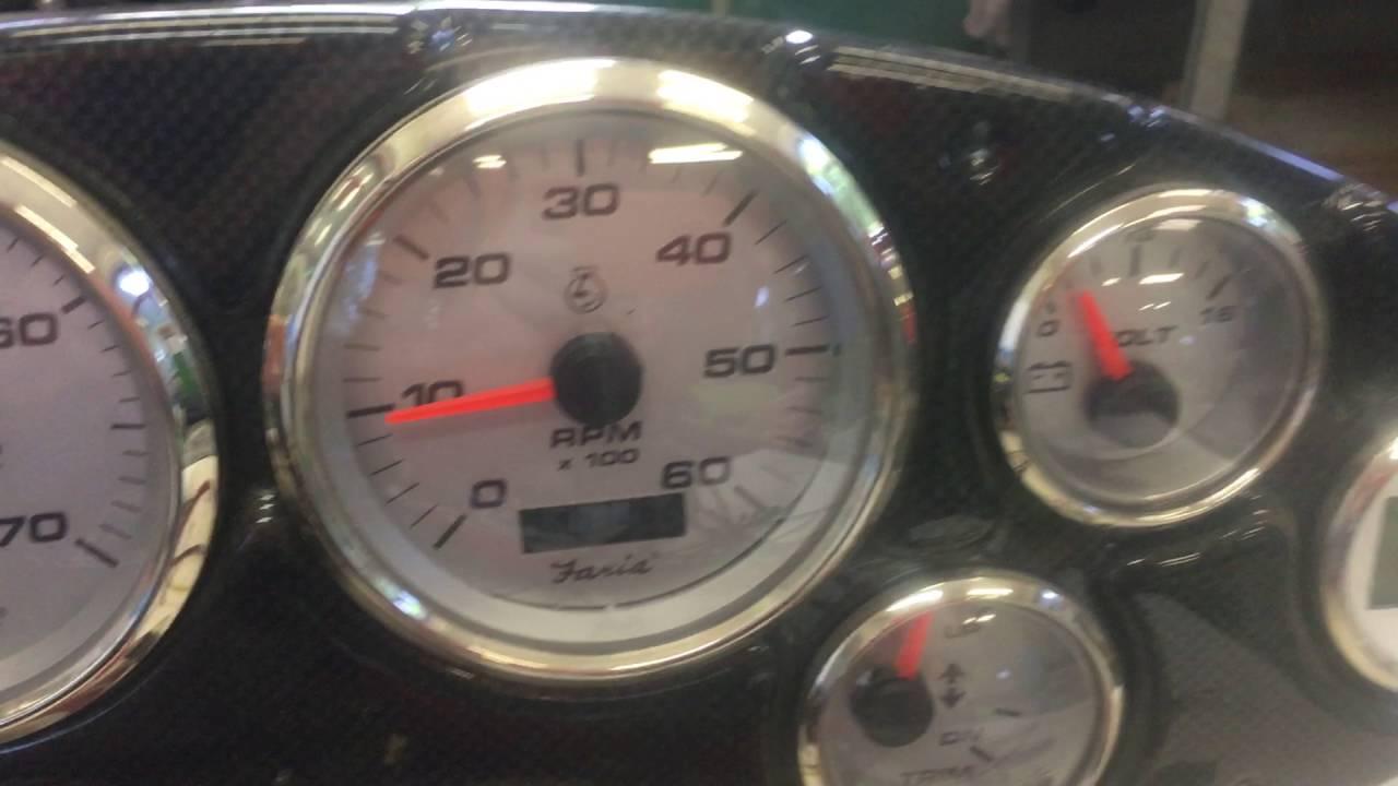 Faria Marine Gauges Wiring Detailed Schematics Diagram Tachometer Youtube Yamaha Fuel Gauge