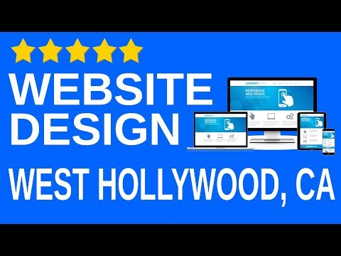 West Hollywood CA local Website design agency company Professional affordable Website builder 90046
