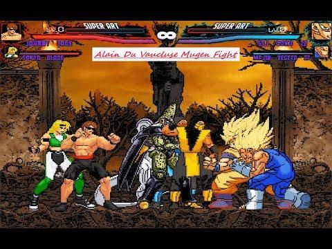 Mugen : Team Mortal Kombat Vs Team DBZ (Request)