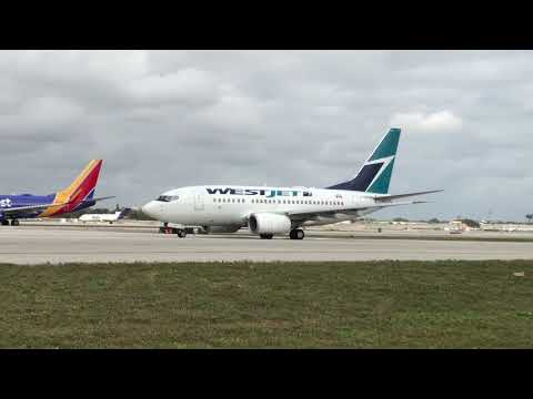 Plane Spotting - Ft Lauderdale Airport - February 3, 2018