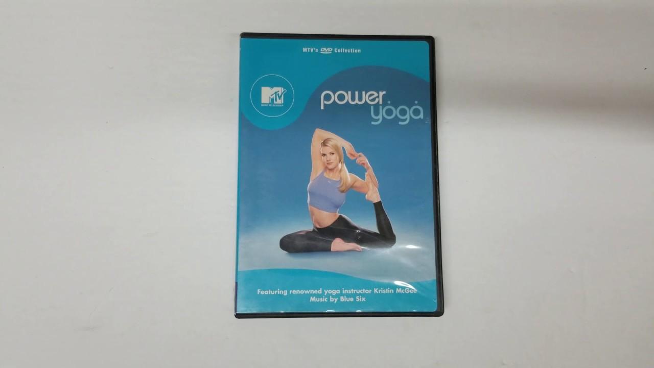 Unboxing Mtv Power Yogakristin Mcgee Actor Format Dvd Pochette Cover 4k Artwork Hd Youtube