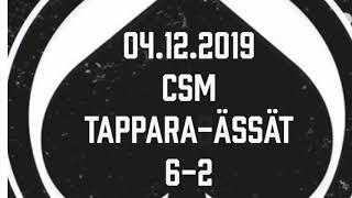 Juniori-Ässät - C1-joukkue - 04.12.2019 CSM Tappara-Ässät Maalikooste