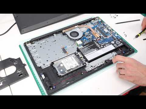 Lenovo IdeaPad L340-17IWL SSD, HDD, RAM And Battery Upgrade/Replacement Guide
