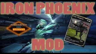 IRON PHOENIX MOD [Swords] Melee 2.0 | Warframe Mods