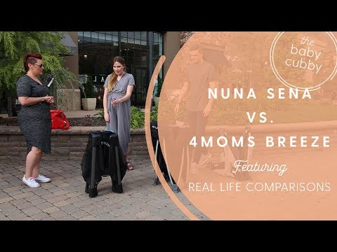 Nuna Sena Vs. 4moms Breeze Playard - Real Life Comparison