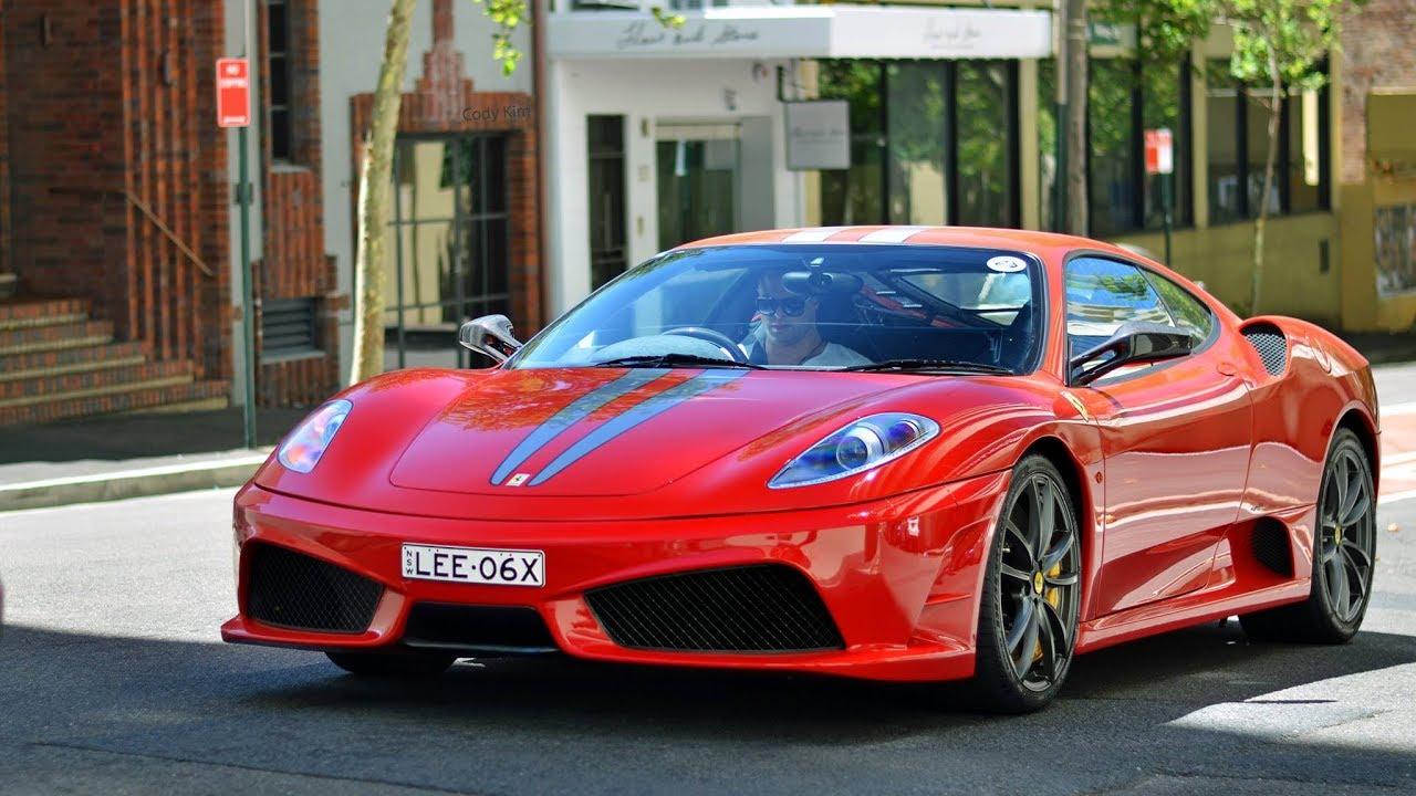 Take A 360 Degree Ride In A Ferrari 430 Vs Ferrari 360 Drag Race Youtube