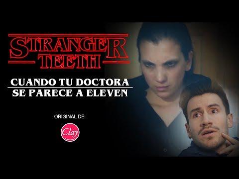 """CUANDO TU DOCTORA SE PARECE A LA DE STRANGER THINGS   """"Stranger Teeth"""""""