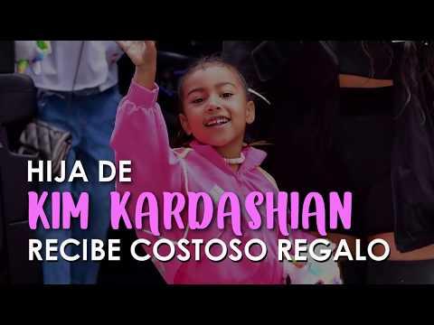 HIJA de 5 AÑOS DE KIM KARDASHIAN RECIBE COSTOSO REGALO de SAN VALENTIN  por PARTE de su NOVIO