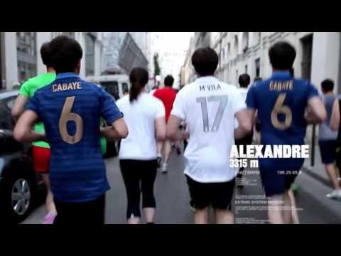 Nike Football France: #runthemidfield