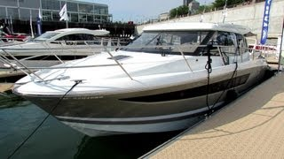 2012 Jeanneau nc11 Motor Yacht - Exterior and Interior - 2012 Montreal In-Water Boat Show
