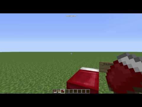 Como fazer uma cama no minecraft leia a descri ao youtube for Cama minecraft
