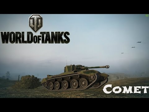 Comet Review, Guide + Ace Tanker Gameplay - World of Tanks