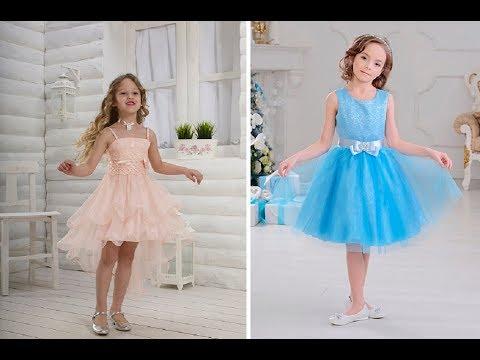 Самые красивые детские платья на выпускной 2019