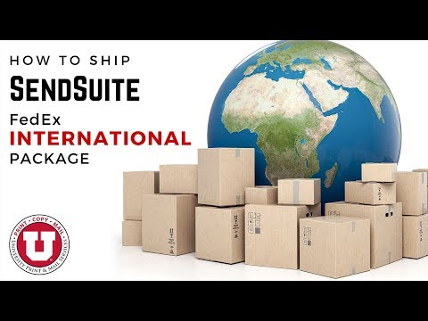 SendSuite: How To Ship FedEx International Packages