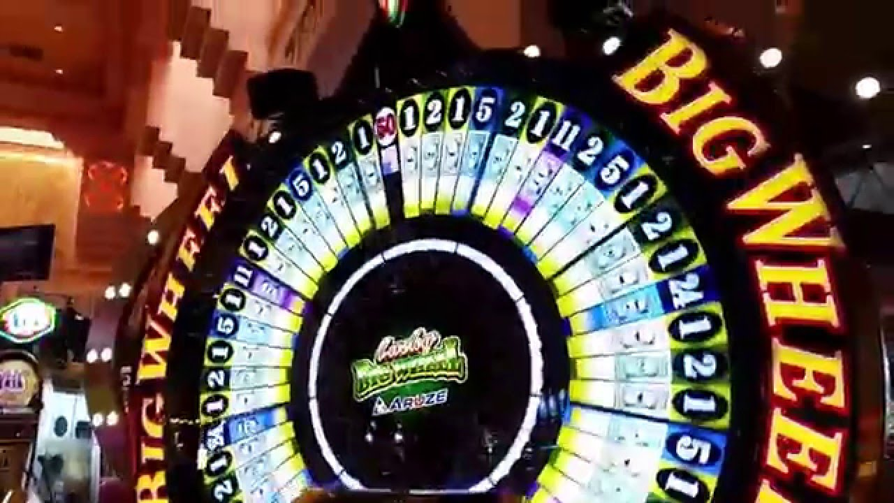NEW Slot Machine - Big Six Wheel - YouTube