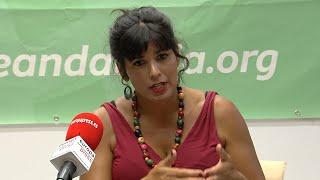Teresa Rodríguez niega transfuguismo entre diputados de Adelante
